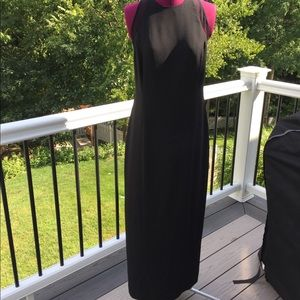 Laundry by Shelli Segal long evening gown see back